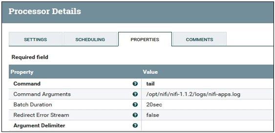 Configuring Apache NiFi