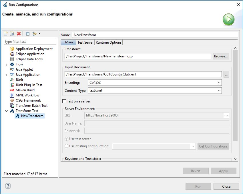 Configuring Disposable Test Servers for Test Run Integration