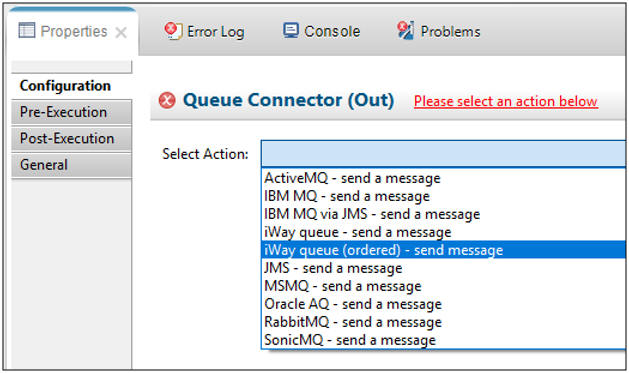 Configuring an Ordered Emit Service