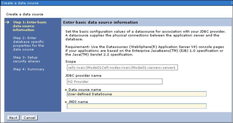 Jdbc name parameters
